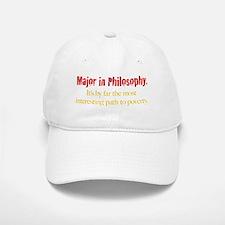 Major in Philosophy Baseball Baseball Cap