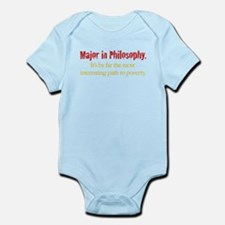 Major in Philosophy Infant Bodysuit