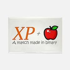XP + Apple Rectangle Magnet (10 pack)