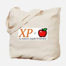 XP + Apple Tote Bag