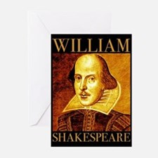 William Shakespeare Greeting Cards (Pk of 20)