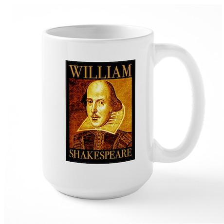 William Shakespeare Large Mug