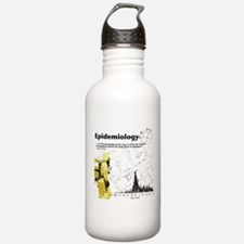 Epidemiology Inspirational Quote Water Bottle