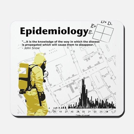 Epidemiology Inspirational Quote Mousepad