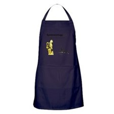 Epidemiology Inspirational Quote Apron (dark)