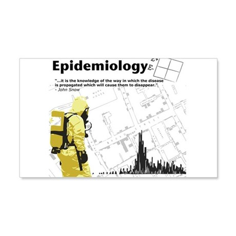 Epidemiology Inspirational Quote 22x14 Wall Peel