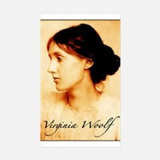 Virginia Woolf Sticker (Rectangle 10 pk)