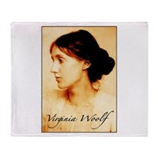 Virginia Woolf Throw Blanket