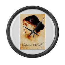 Virginia Woolf Large Wall Clock
