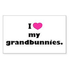 I love my grandbunnies. Decal