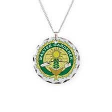 Master Gardener Seal Necklace Circle Charm