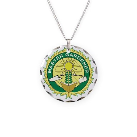 Master Gardener Seal Necklace Circle Charm