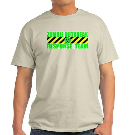 Zombie Outbreak Response Team Ash Grey T-Shirt