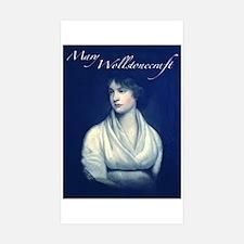 Mary Wollstonecraft Sticker (Rectangle 10 pk)