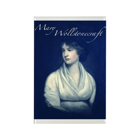 Mary Wollstonecraft Rectangle Magnet (100 pack)