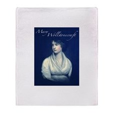 Mary Wollstonecraft Throw Blanket