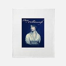 Mary Wollstonecraft Throw Blanket