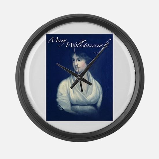 Mary Wollstonecraft Large Wall Clock