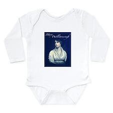 Mary Wollstonecraft Long Sleeve Infant Bodysuit