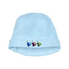 Pop Art Retro Camera baby hat