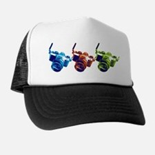 Pop Art Retro Camera Trucker Hat