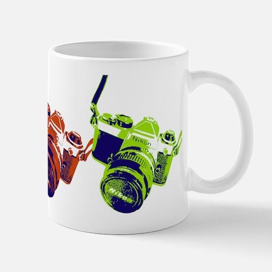 Pop Art Retro Camera Mug