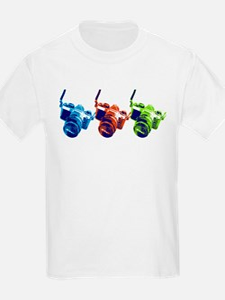 Pop Art Retro Camera T-Shirt