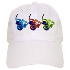 Pop Art Retro Camera Baseball Cap