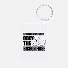 Bichon Frise Keychains