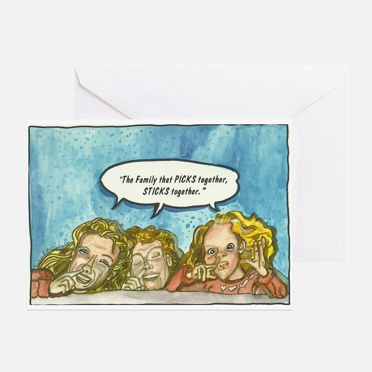 Pickin' Greeting Card