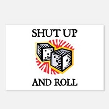 Shut Up and Roll Postcards (Package of 8)