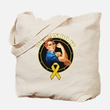 We Can Do It Childhood Tote Bag