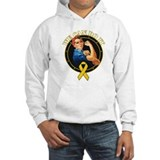 Childhood cancer awareness Hooded Sweatshirt