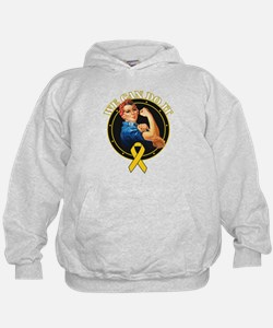 We Can Do It Childhood Hoodie