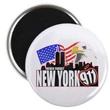 New York 911 Magnet
