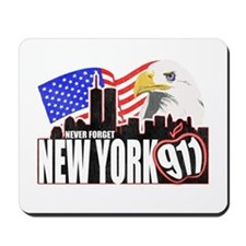 New York 911 Mousepad