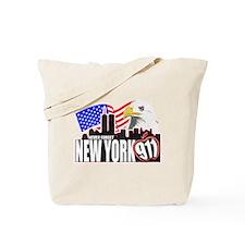 New York 911 Tote Bag
