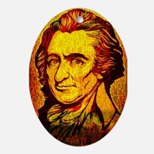 Thomas Paine Ornament (Oval)