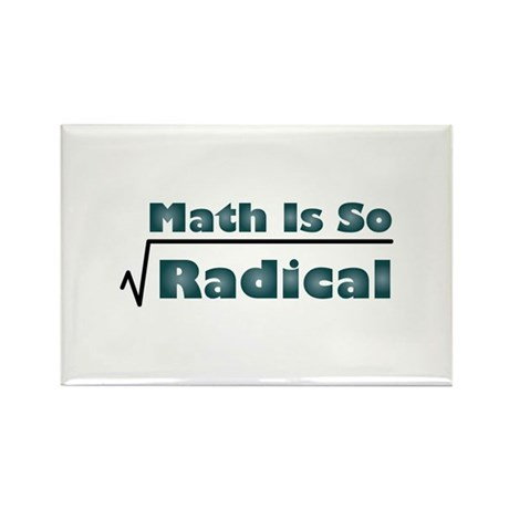 Math Is So Radical Rectangle Magnet (10 pack)