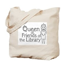 Queen of Friends of the Libra Tote Bag