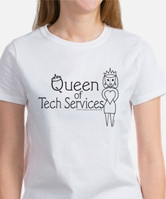 Queen of Tech Services Women's T-Shirt