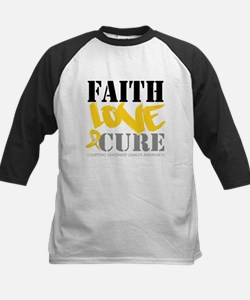 Faith Childhood Cancer Tee