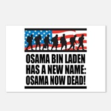 Osama Now Dead Postcards (Package of 8)