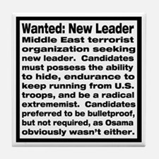 Wanted: New Leader Tile Coaster