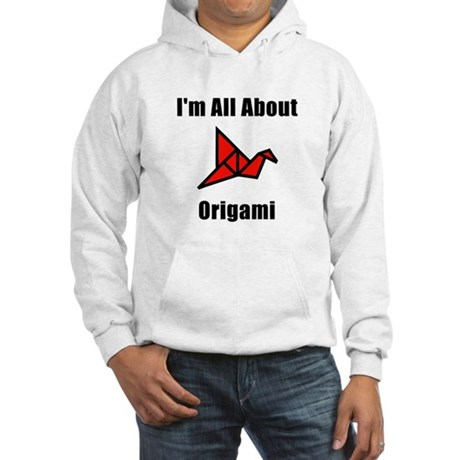 I'm All About Origami Hooded Sweatshirt