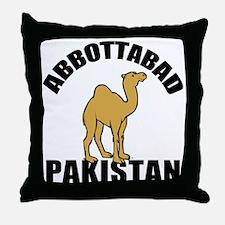 Abbottabad Throw Pillow