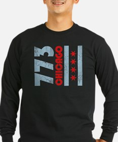 Funny Chicago city flag T