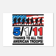 5/1/11 Thanks to the Troops Postcards (Package of