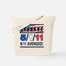 5/1/11 9/11 Avenged Tote Bag