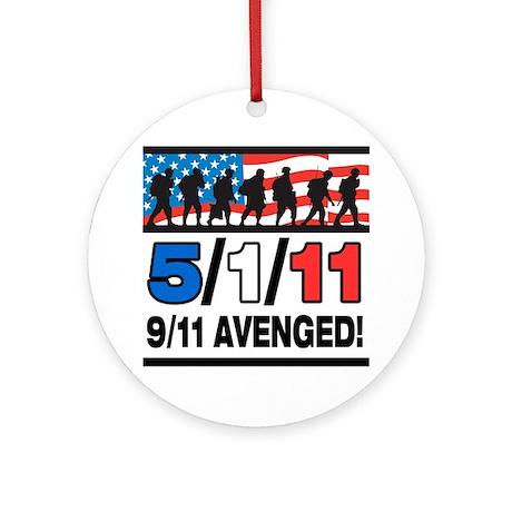 5/1/11 9/11 Avenged Ornament (Round)